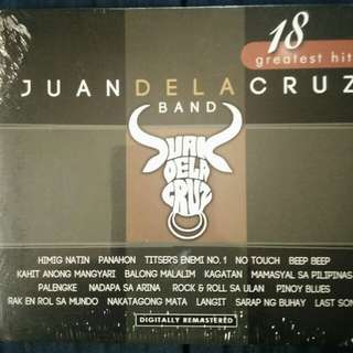 JUAN DELA CRUZ BAND-18 GREATEST HITS
