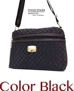 Ninewest sling bag size : 11 inches