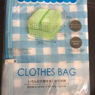 購自日本 japan 收納袋 bag(被袋,衣袋)