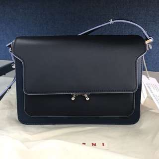 Marni two tone Medium Trunk Bag