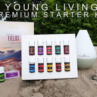 Young living essential oil starter kit . Brand new complete set