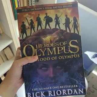 Heroes Of Olympus blood of olympus