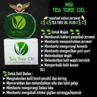 Silver Ion dan Sabun Tea Tree Oil