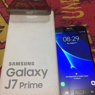 Samsung j7 prime blackmatte 3/32gb sudah fingerprint dan 4g