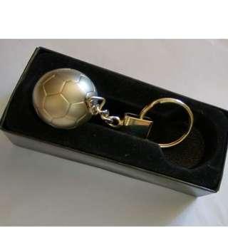 賽馬會 紀念品 足球造型鎖匙扣