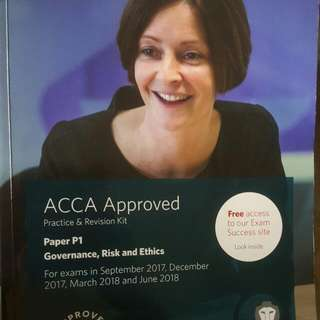 ACCA BPP F6-P3 study text & revision kit