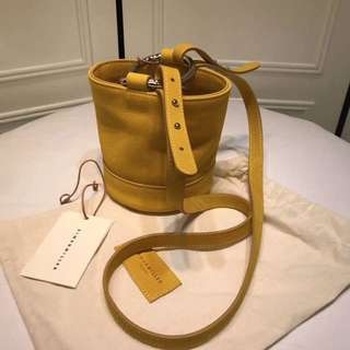Simon Miller USA Bonsai 15 mini leather bucket bag