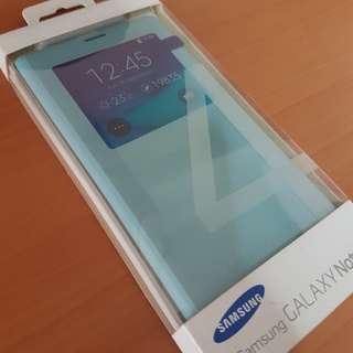 Note 4 Blue S-view Cover
