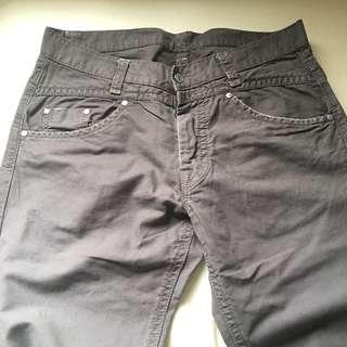 BENETTON W34 灰紫 休閒褲