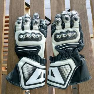 Dainese Long Racing Gloves - Carbon Cover ST