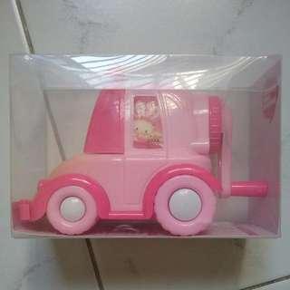 BNIB Pencil Sharpener - Car Shape Pink