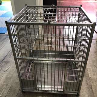 Chinchilla / Small mammal Stainless Steel Cage! Pure stainless steel no rust.