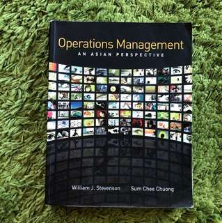 DSC2006 ops management textbook