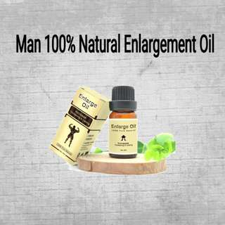 Man 100% natural thickening oil for penis