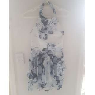 Formal halter neck dress