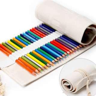 Sales: Roll Up Pouch+60 Faber Castell Colour Pencils