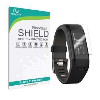 Garmin Vivosmart HR+ Screen Protector - Rinoskin Shield Easy Install 6 pcs