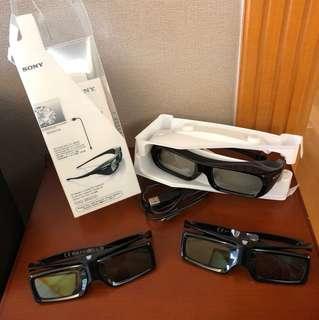 SONG一3D眼鏡三副