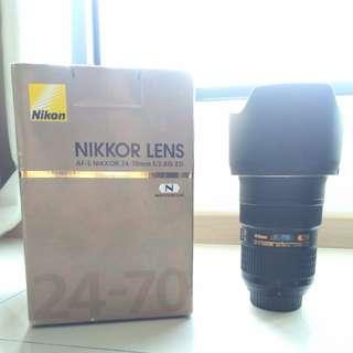 Nikon AFS 24-70 F2.8