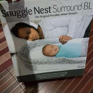 Snuggle nest co-sleep