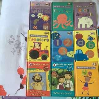 LadyBird Children Books (total 15 books)