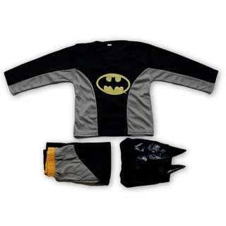 [INSTOCK] Batman Full Set Kids Party Costume