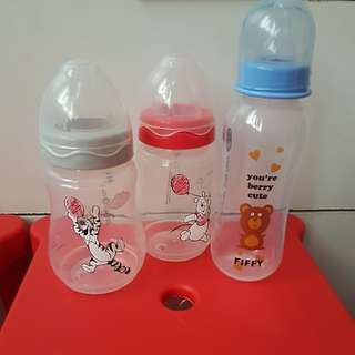 Feeding bottle baby