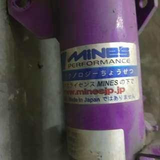 Honda fit ge6 mine's absorbers