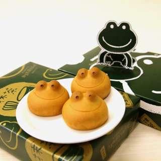青柳總本家❤️青蛙饅頭🐸