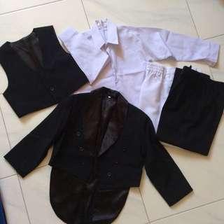 Boys wedding smart suit