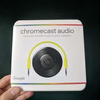 Chromecast Audio BNIB (free US to SG power adapter!)