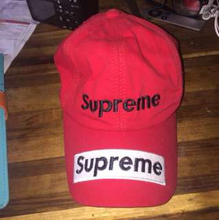 Supreme fake hat