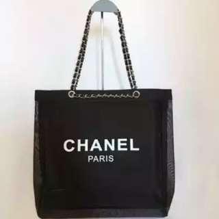 Chanel VIP Mesh Tote Bag