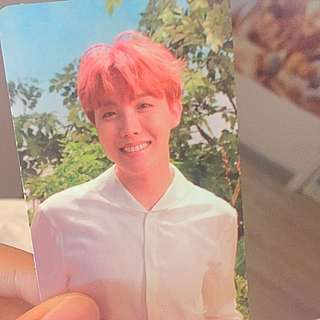 💕BTS LOVE YOUSELF JHOPE 小卡