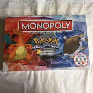 Pokemon monopoly board game new & sealed