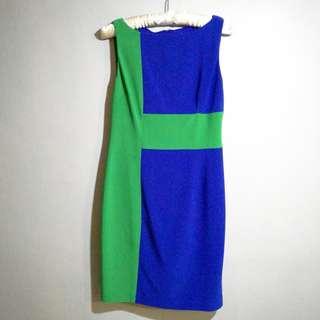 Blue / Green  Dress