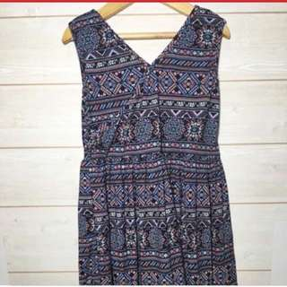 Printed dress 3-5y Cotton