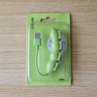 Miniso Snap Pea USB Hub Cable