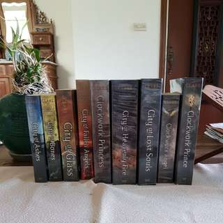 Mortal Instruments and Infernal devices series