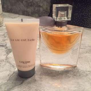La vie Belle 50ml Eau de Parfume + lotion!
