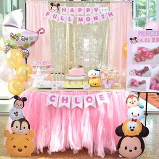 Full month Birthday Party Decoration