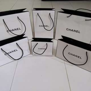 Genuine CHANEL Paper Bags