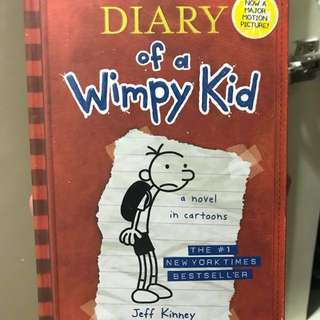 Diary of A Wimpy Kid (Hard Bound)