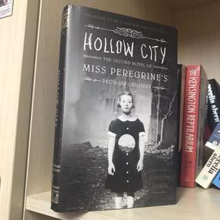 FREE ONGKIR Miss Peregrines Hollow City Hardcover