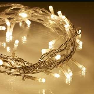 LED String Fairy Light (Warm White)
