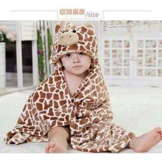 Babies Bedding with Character Hood