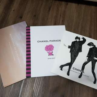Chanel catalogues/brochures