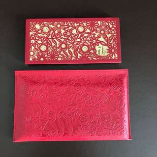 Red Packets with holder