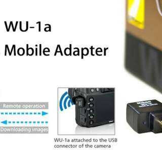 Wireless mobile adaptor for Nikon