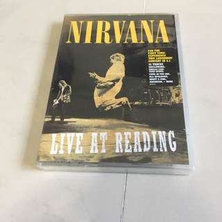 Nirvana live at reading dvd kurt Cobain